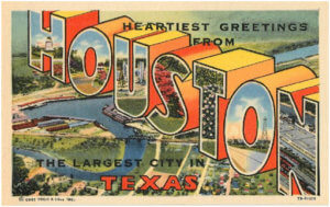 Houston Postcard